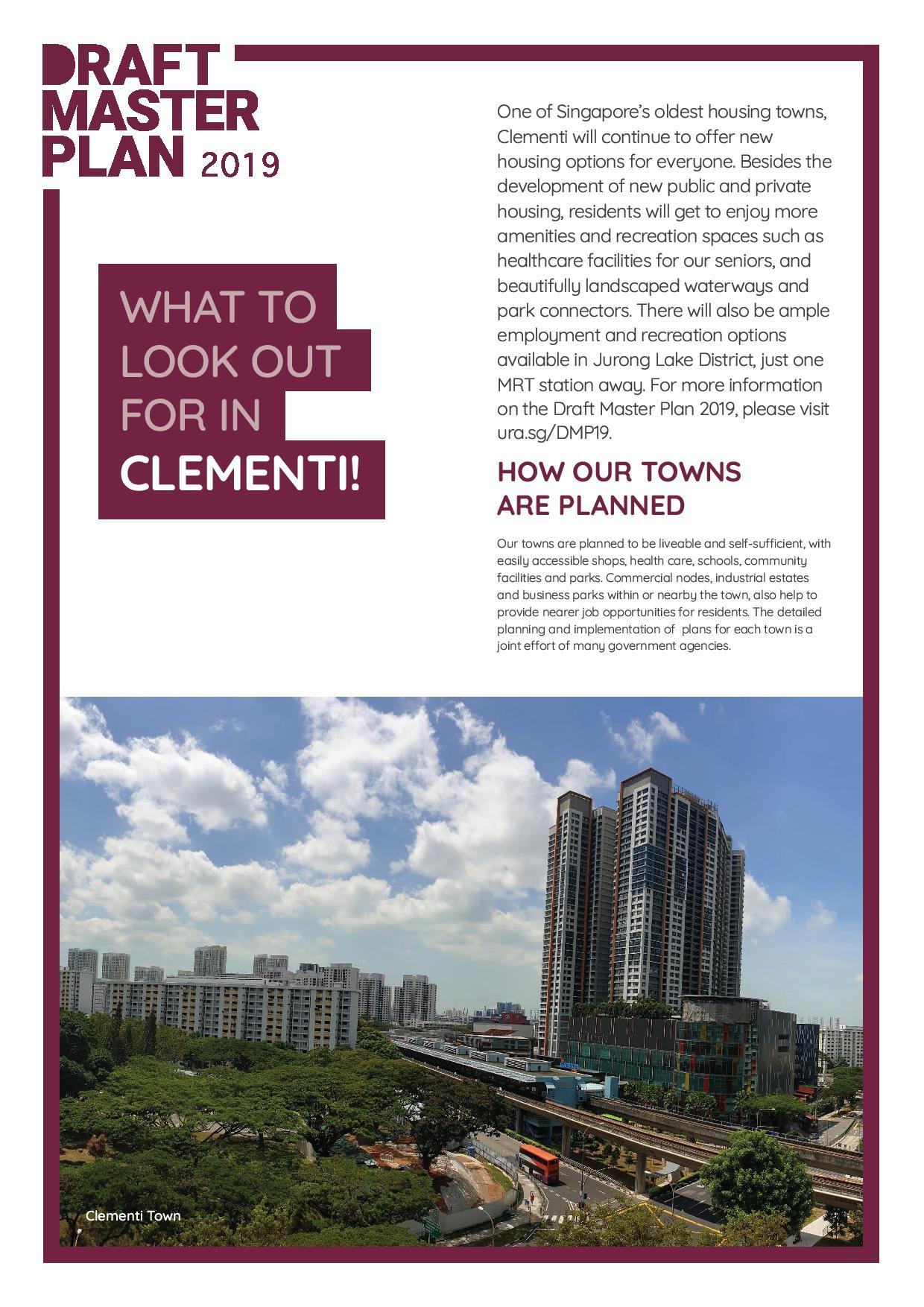 URA Master Plan Clementi 1