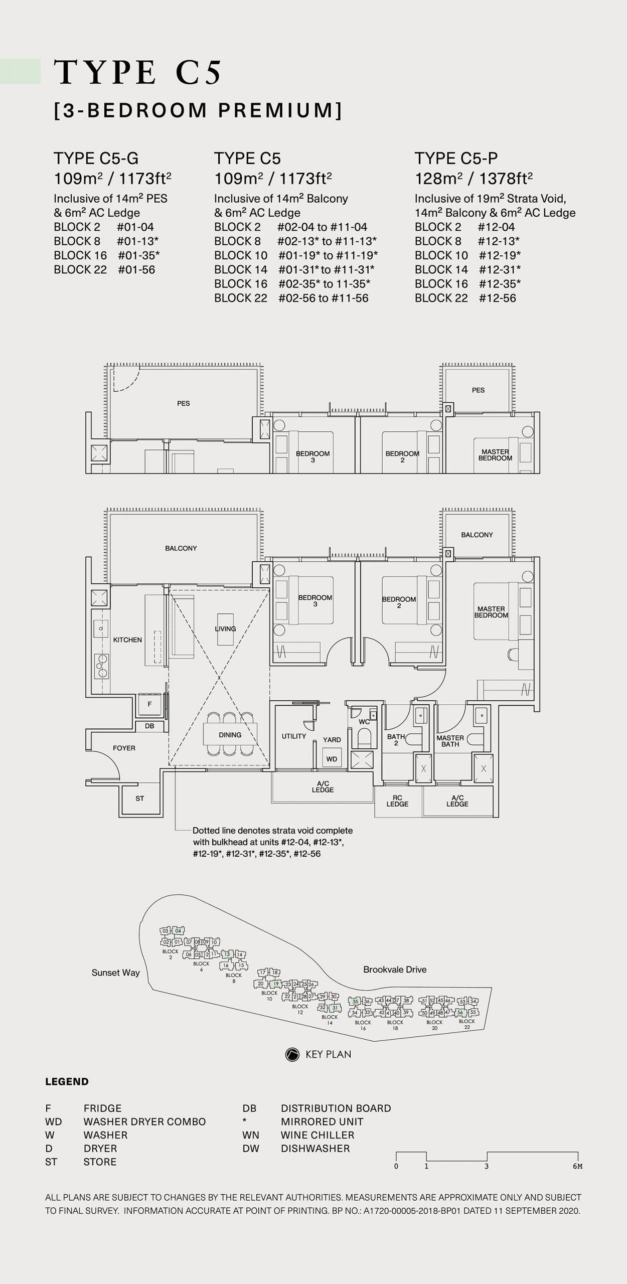 Ki Residences Floor Plan 3 Bedroom C5 scaled