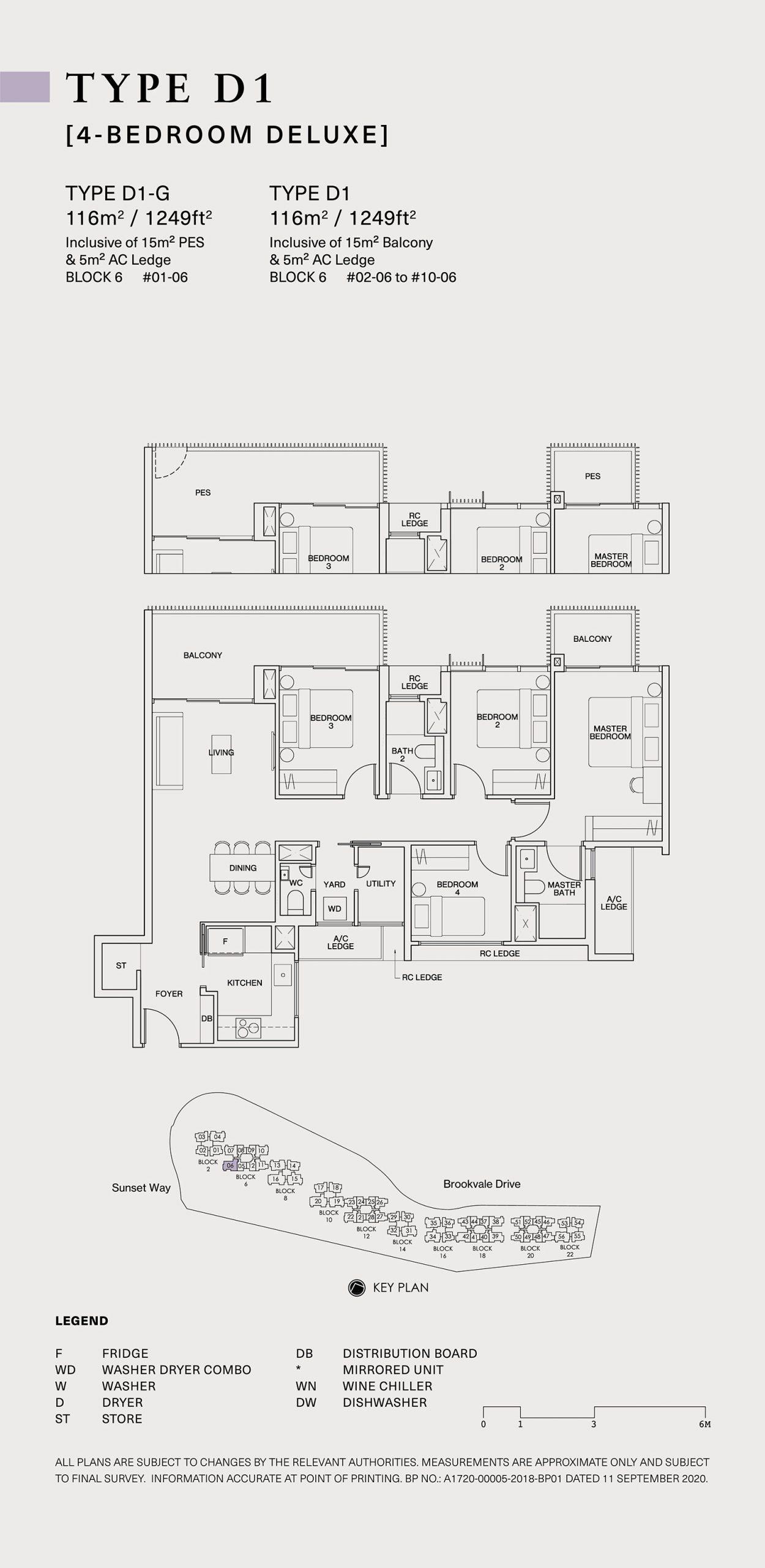 Ki Residences Floor Plan 4 Bedroom D1 scaled