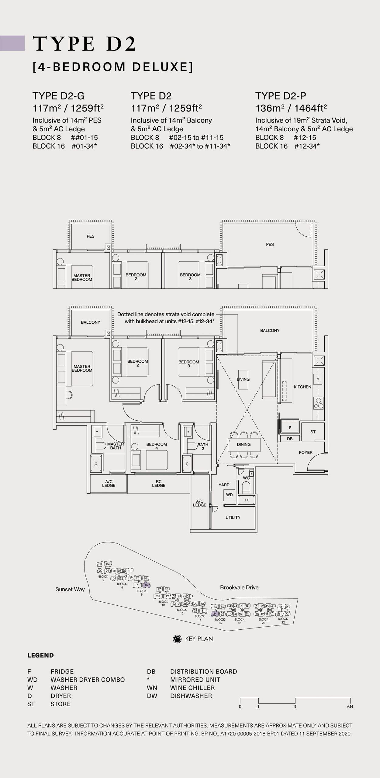 Ki Residences Floor Plan 4 Bedroom D2 scaled