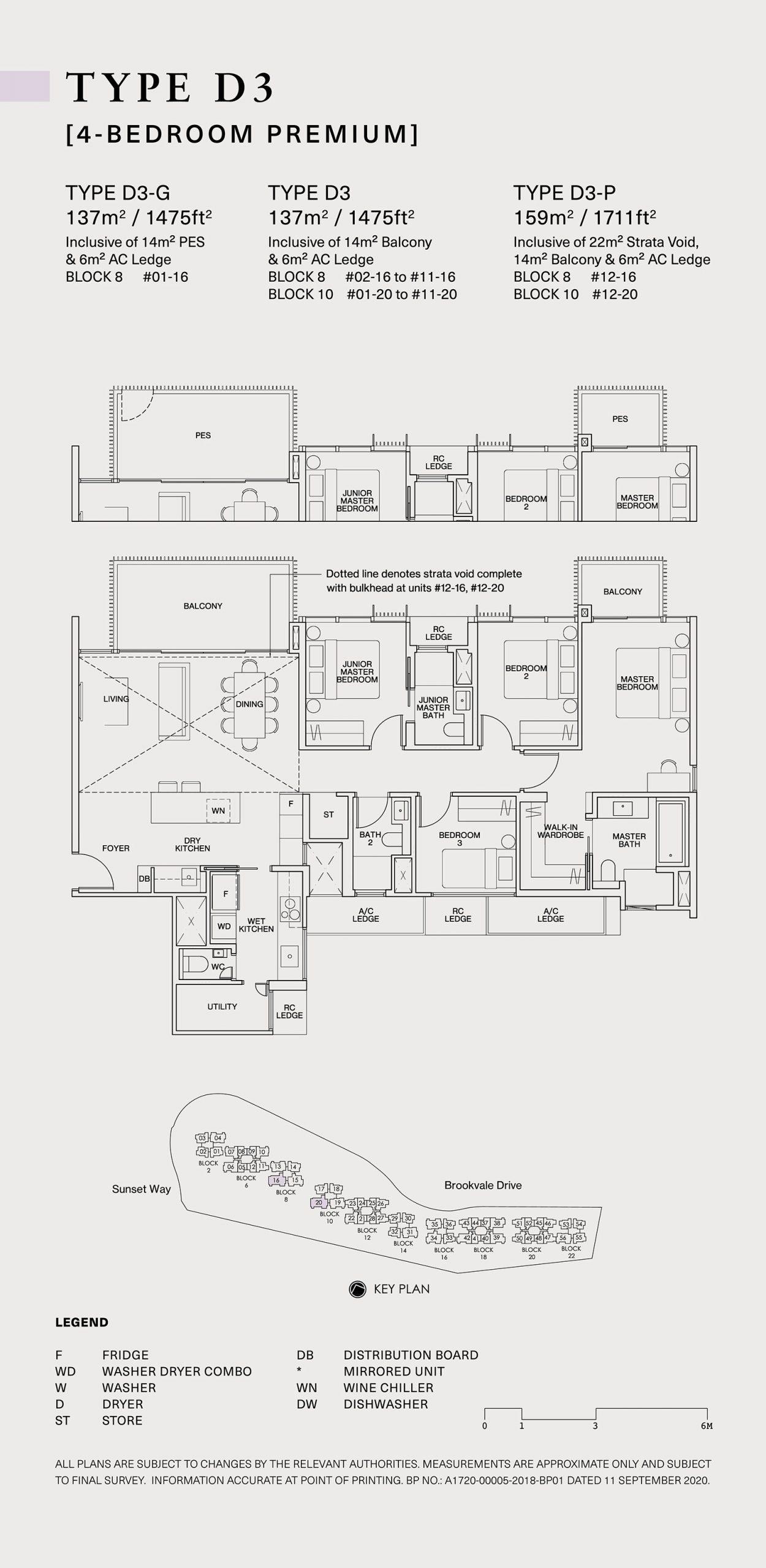 Ki Residences Floor Plan 4 Bedroom D3 scaled