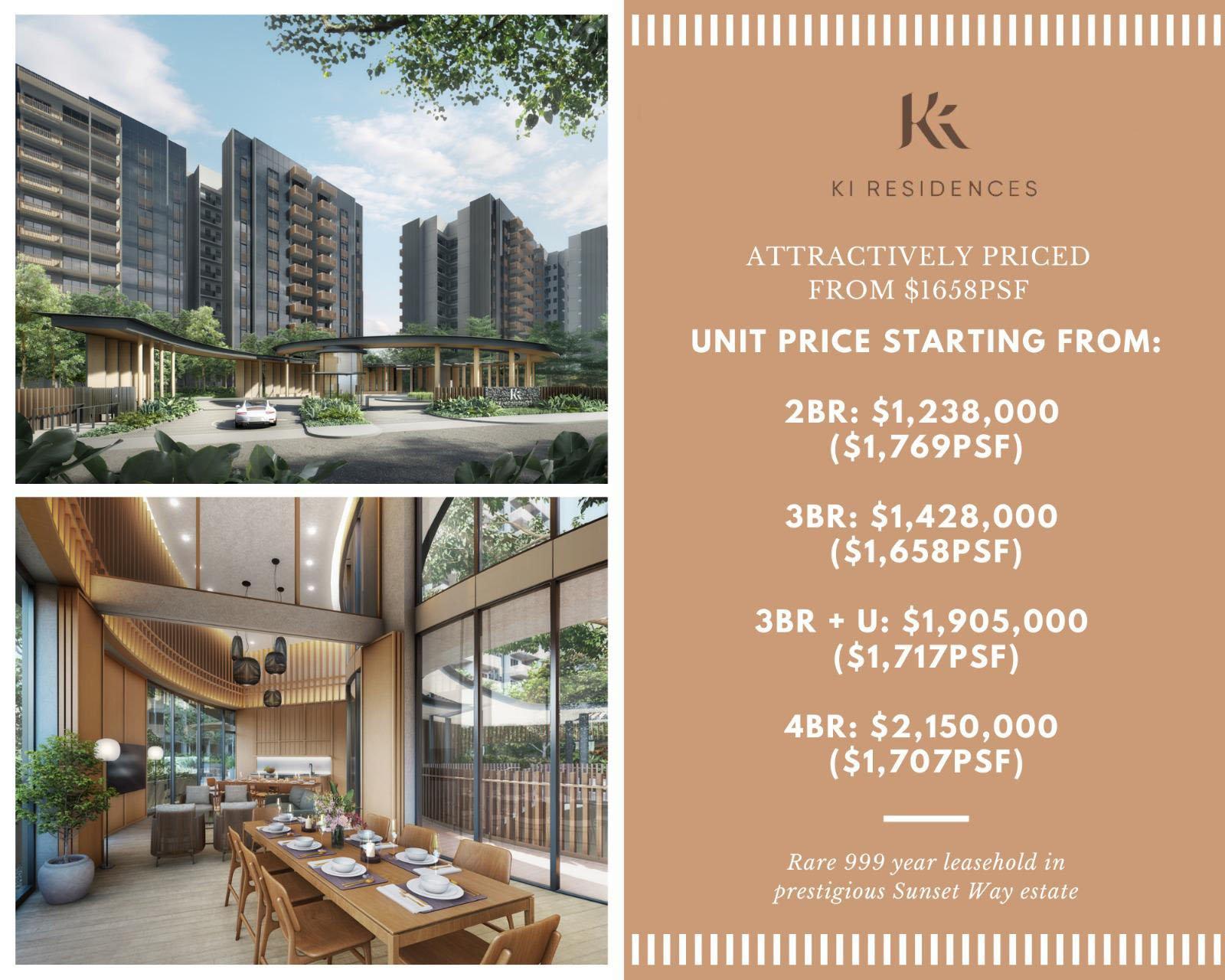 Ki Residences Launching Price List