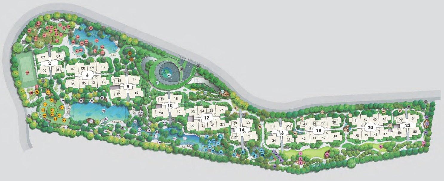 Ki Residences Site Plan Main
