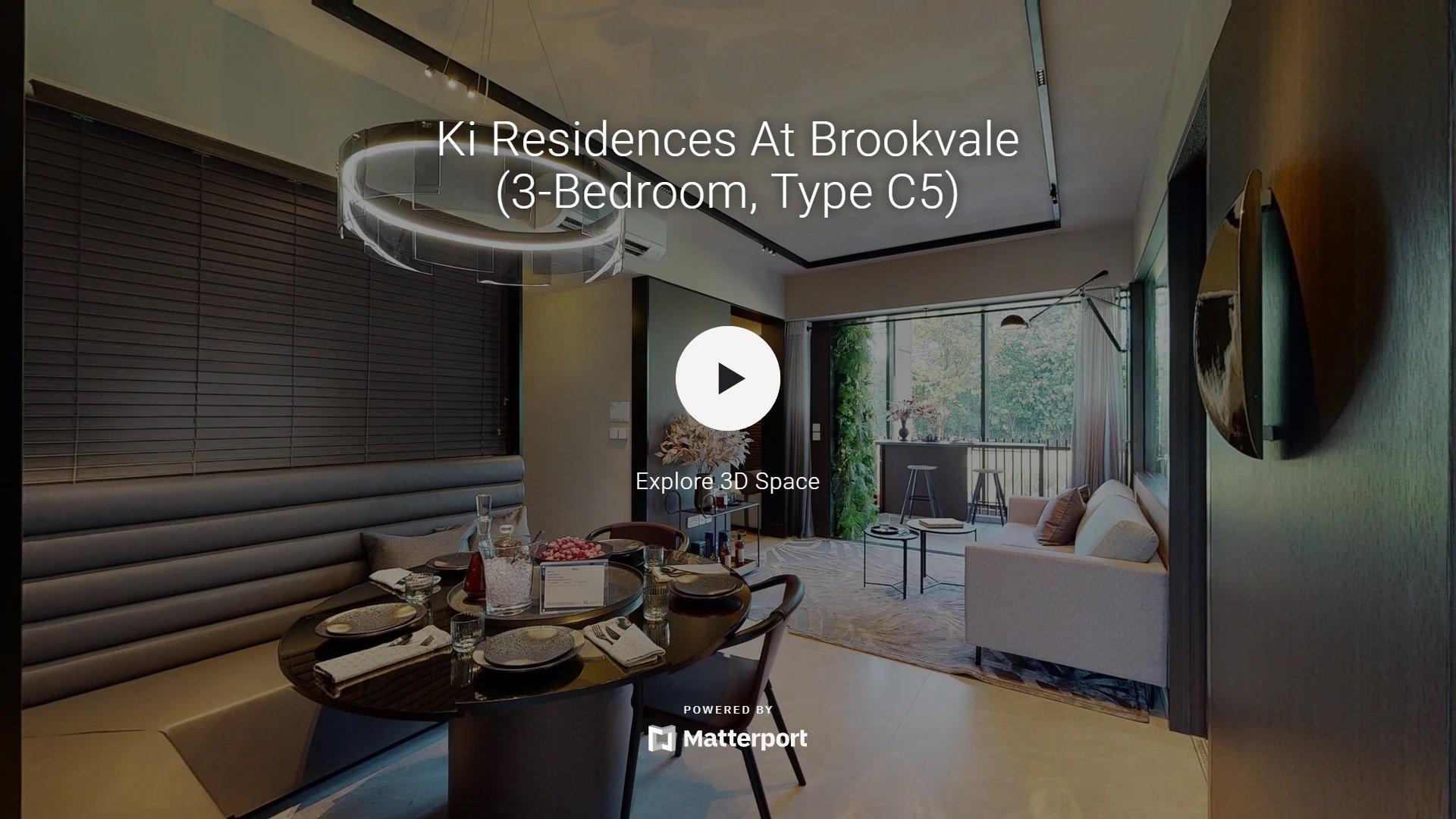 Ki Residences Virtual Tour 3 Bedroom Yard Utility Type C5