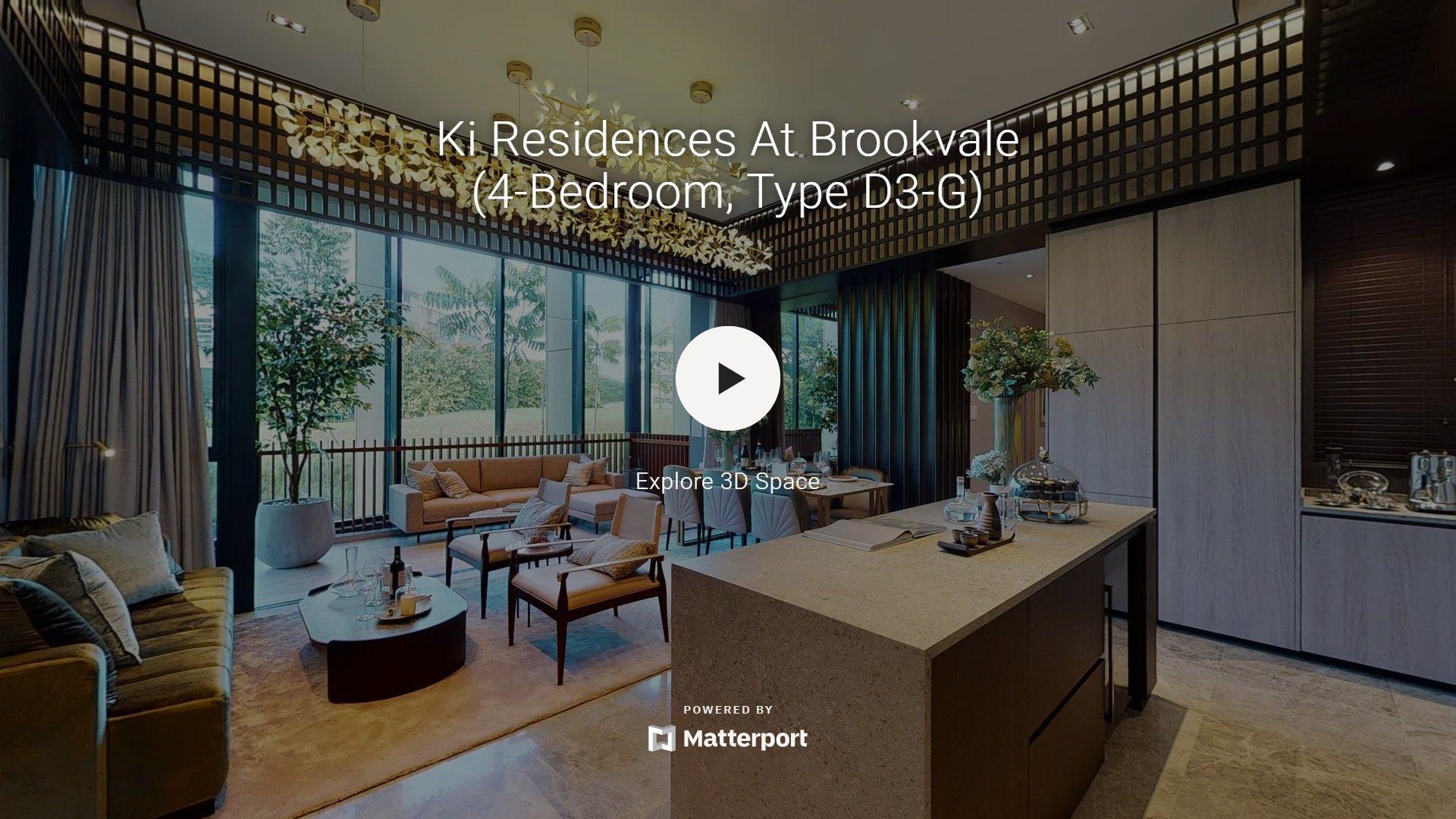 Ki Residences Virtual Tour 4 Bedroom Type D3 G